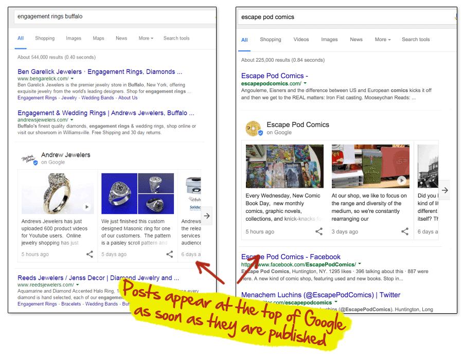 Post on Google